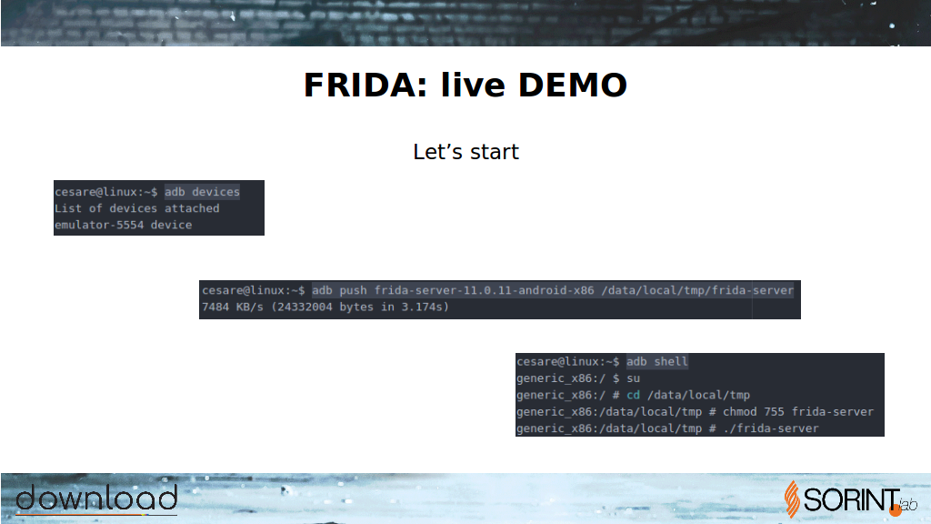 Floating Point | FRIDA: Intro and Live Demo